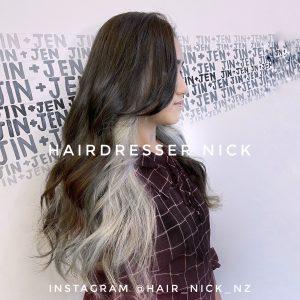 Two-tone-투톤염색-underneath-blonde-korean-hair-salon